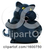 July 16th, 2018: Clipart Of A 3d Black Kitty Cat Giving A Thumb Up On A White Background Royalty Free Illustration by Julos