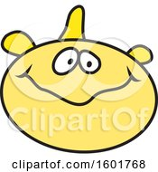 Clipart Of A Fish Royalty Free Vector Illustration