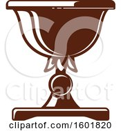 Clipart Of A Brown Israel Symbols Royalty Free Vector Illustration by Vector Tradition SM