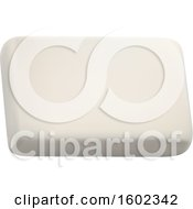 Clipart Of A 3d Eraser Royalty Free Vector Illustration