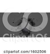 Clipart Of A 3d Abstract Shattered Background Royalty Free Illustration by KJ Pargeter