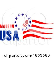 Poster, Art Print Of Made In Usa Design