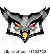 Tough Great Horned Owl Head