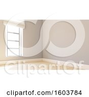 3d Empty Room Interior