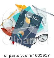 Geometry Book And School Supplies