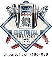 Poster, Art Print Of Diamond Electrical Design