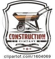 Construction Company Design With A Wheelbarrow