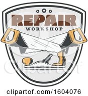 Repair Workshop Design With Saws And A Jack Plane