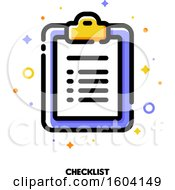 Clipboard Checklist Icon