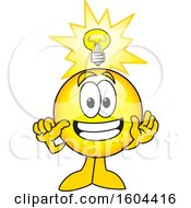 Poster, Art Print Of Smiley Emoji School Mascot Character With An Idea