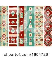 Native American Navajo Border Designs