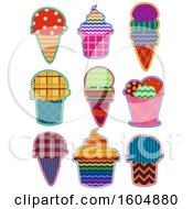 Poster, Art Print Of Ice Cream Patches