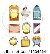 Poster, Art Print Of Bottle Label Designs
