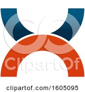 August 15th, 2018: Clipart Of A Letter X Logo Royalty Free Vector Illustration by Vector Tradition SM