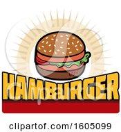 Poster, Art Print Of Hamburger Design