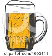Poster, Art Print Of Beer Mug