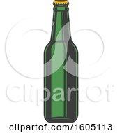Poster, Art Print Of Beer Bottle