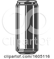 Clipart Of A Beer Can Royalty Free Vector Illustration