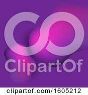 Clipart Of A Gradient Purple Abstract Background Royalty Free Vector Illustration