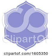 Clipart Of A Blank Label Frame Design Royalty Free Vector Illustration