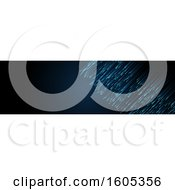Clipart Of A Techno Website Banner Design Element Royalty Free Vector Illustration