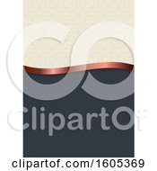Clipart Of A Vintage Background Royalty Free Vector Illustration