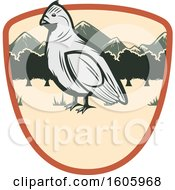 Clipart Of A Bird Design Royalty Free Vector Illustration
