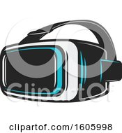 Set Of Virtual Reality Goggles
