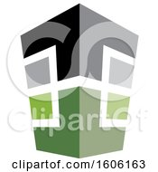 Clipart Of A Tall Building Royalty Free Vector Illustration by Lal Perera