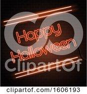 Neon Happy Halloween Design