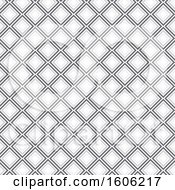 Clipart Of A Diamond Pattern Background Royalty Free Vector Illustration