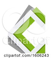 Green Gray And White Background
