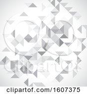 Grayscale Geometric Background