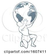 Atlas Titan Carrying A Globe