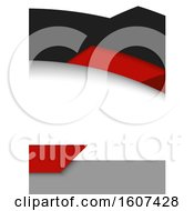Black Red And White Background