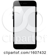Clipart Of A 3d Smart Phone Royalty Free Vector Illustration by dero