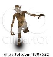 3D Render Of A Halloween Evil Demon Figure