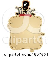 Pirate Banner Clipart