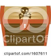 Pirate Party Themed Treasure Chest Clipart