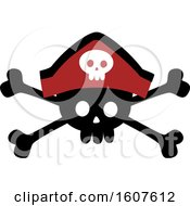 Pirate Party Themed Skull And Crossbones Clipart