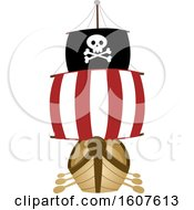 Pirate Party Themed Ship Clipart