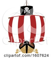Pirate Ship Clipart by BNP Design Studio