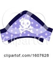 Poster, Art Print Of Female Pirate Party Themed Skull Hat Clipart