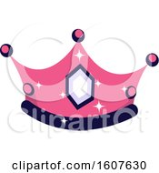 Female Pirate Party Themed Crown Clipart