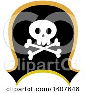Pirate Party Themed Hat Clipart