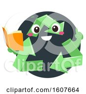 Mascot Recycle Guide Illustration by BNP Design Studio