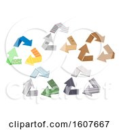 Recycle Symbol Designs Illustration
