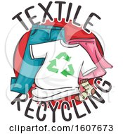 Textile Recycling Icon Illustration