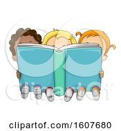 Kids Toddlers Big Book Illustration