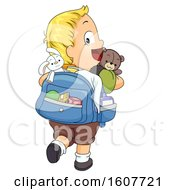 Kid Toddler Boy Possessions Illustration